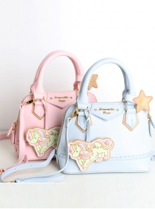 Fashion Gemini Unicorn Sweet Lolita Handbag Shoulder Bag