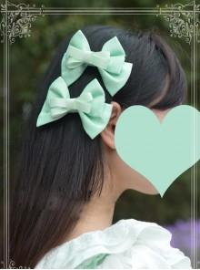 Magic Tea Party Wind's Child Series Bowknot Lolita Hair Pins