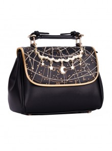 Harajuku Style Starry Sky Embroidery Lolita Shoulder Bag