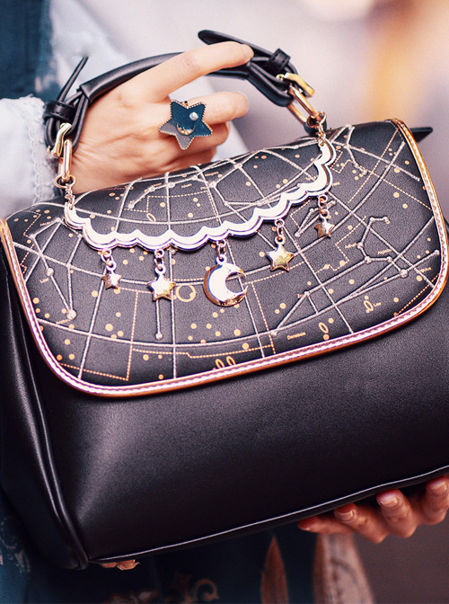 Harajuku Style Starry Sky Lolita Shoulder Bag