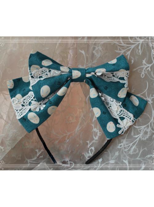 Magic Tea Party Owl And Rabbit Series Rabbit Bowknot Lolita Head Hoop