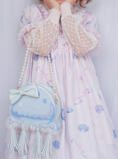 Cute Jellyfish Tassel Lolita Shoulder Bag