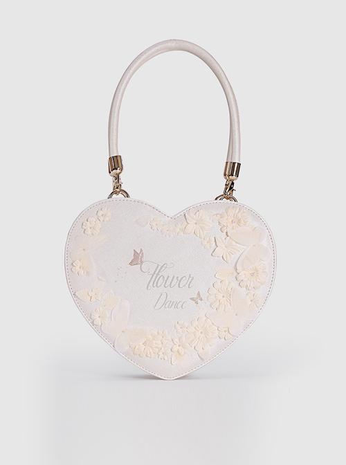 Elegant Bride Heart-shaped Lolita Bag