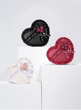 Elegant Heart-shaped Gift Box Lolita Shoulder Bag