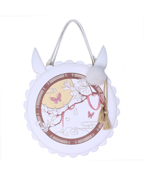 Embroidery Chinese Style Circular Lolita Bag