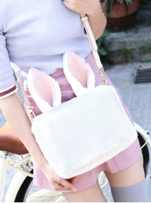 Cute White Rabbit Ears Lolita Shoulder Bag