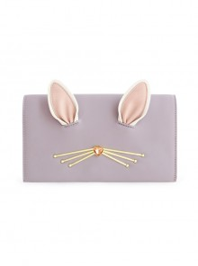 Light Purple Cute Cat Ears Lolita Shoulder Bag