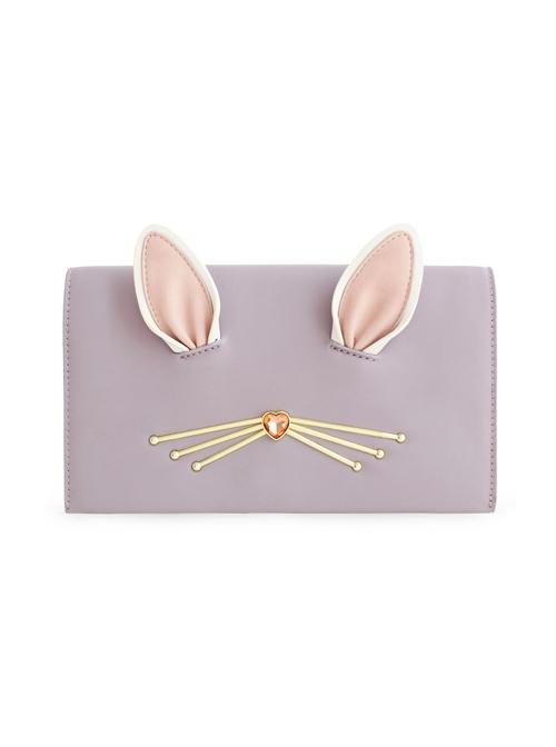 Light Purple Cute Cat Ears Lolita Shoulder Bag