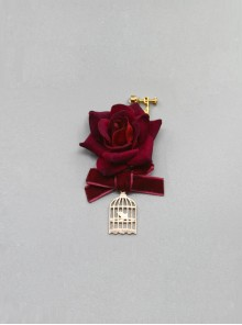 The Little Prince Series Velvet Rose Lolita Ear Clips