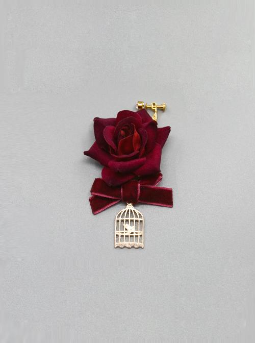 The Little Prince Series Velvet Rose Lolita Ear Clips