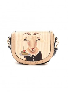 Fairytale Printing Goats Lady Lolita Shoulder Bag