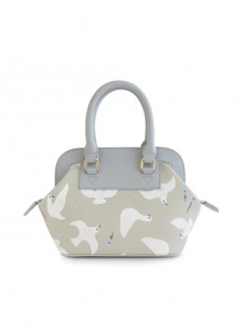 White Dove Pattern Lolita Shoulder Bag