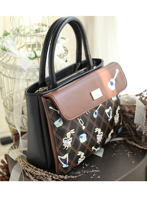 Retro Rabbit Embroidery Lolita Shoulder Bag