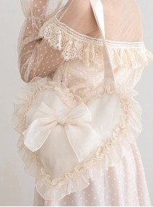 Autumn Dream Cute Ruffle Lolita Shoulder Bag