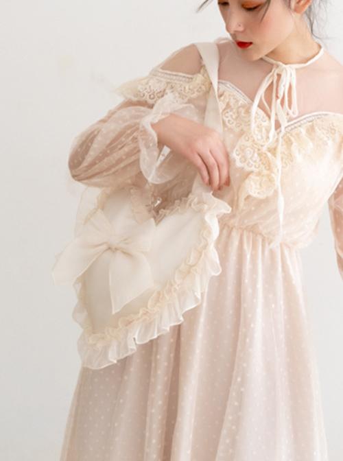 Autumn Dream Cute Ruffle Lolita Shoulder Bag