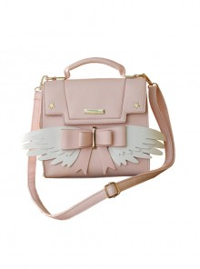 Wings Pink Sweet Lolita Shoulder Bag