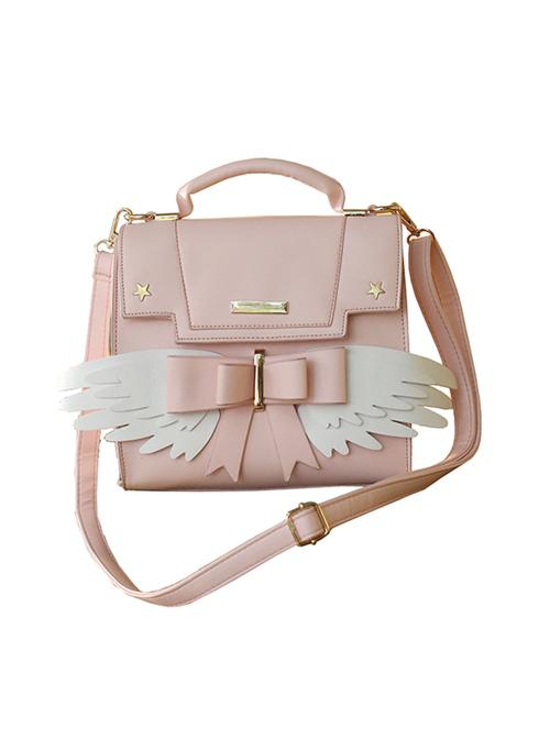 Wings Pink Sweet Lolita Shoulder Bag