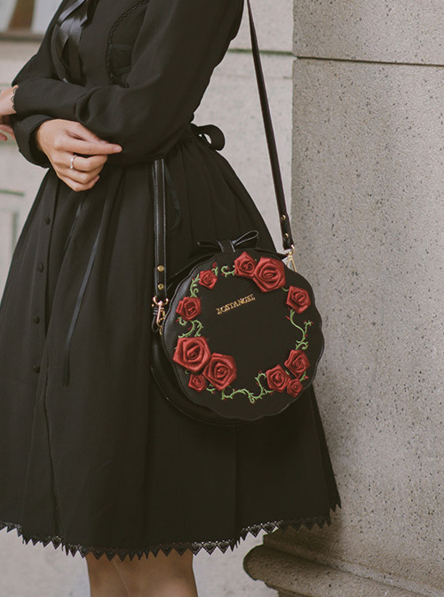 Rose Garden Series Gothic Lolita Shoulder Bag