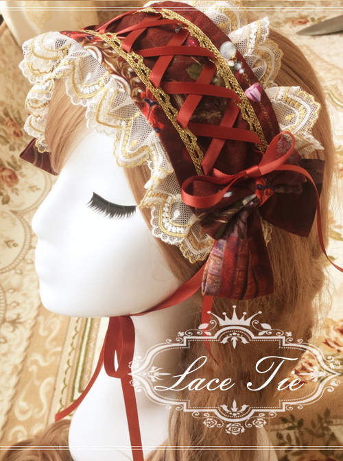 Heavenly Garden Printing Lolita Hair Band