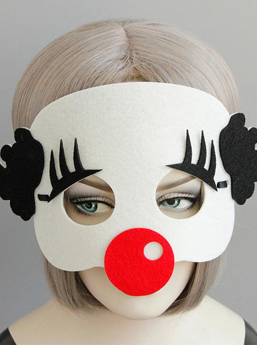 Halloween Christmas Easter Funny Clown Mask