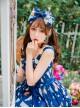 Magic Tea Party Sunny Day And Food Series Printing Classic Lolita KC Hair Hoop