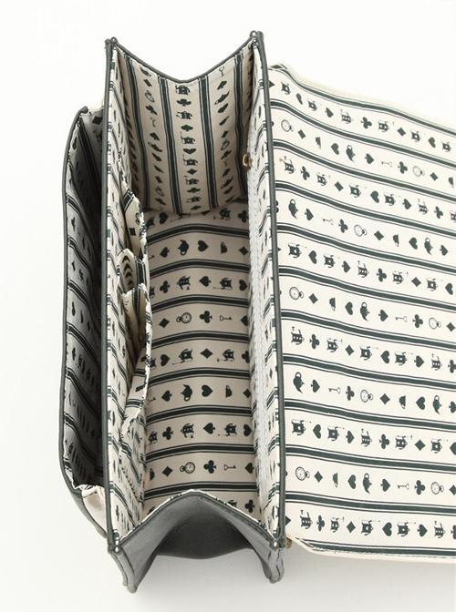 Alice Poker Series Classic Lolita Backpack Handbag Shoulder Bag Multiple Ways Of Use