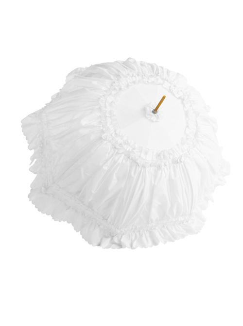 Multiple Colours Lace Princess Classic Lolita Long Handle Sunshade Umbrella