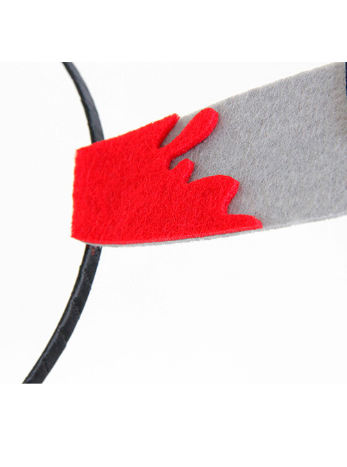 Halloween Prank Funny bleed kitchen knife Modelling Hair Hoop