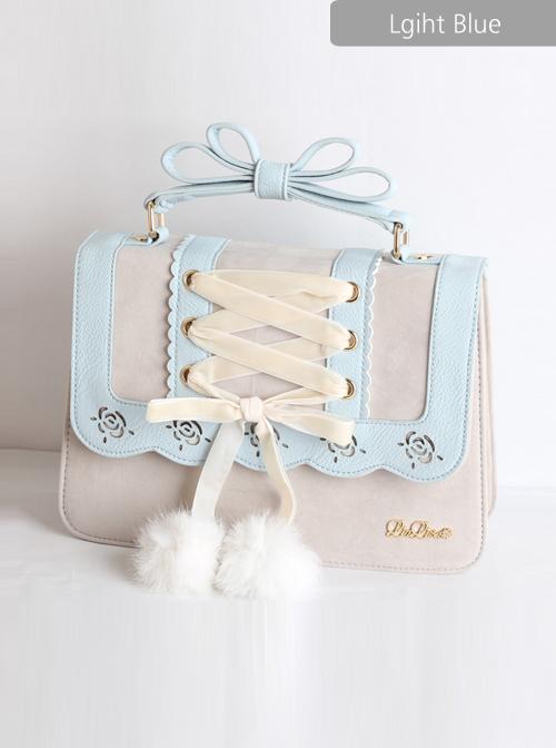 Christmas Lace-up Classic Lolita Bag