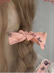Alice's Dreamland Series Classic Lolita Printing Hair Rings
