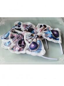 Magic Tea Party Ice Cream Party Series KC Chiffon Classic Lolita Head Hoop