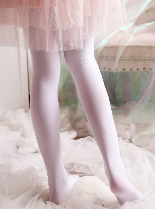 Sailor Moon Printing Classic Lolita Black Or White Pantyhose