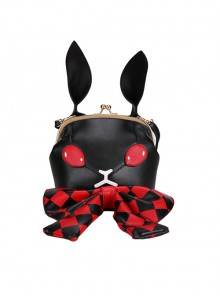 Dark Style Gothic Poker Bunny Bowknot Lolita Shoulder Bag