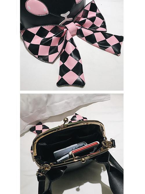 Dark Style Gothic Poker Bunny Bowknot Lolita Shoulder Bag