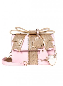 Sequin Bowknot Exquisite Gift Box Sweet Lolita Shoulder Bag
