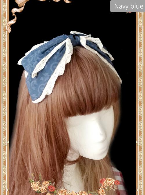 Royal Murals Series Chiffon KC Classic Lolita Head Hoop