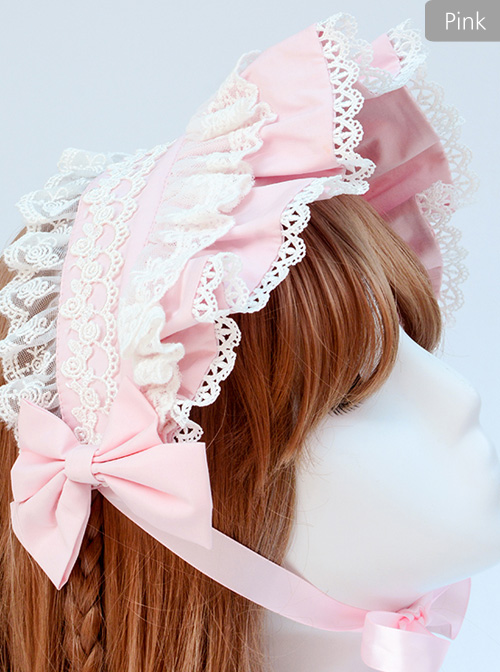Afternoon Time Series Concise Pure Color Classic Lolita Hairband