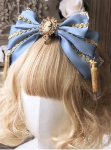Gorgeous Style Golden Tassel Classic Lolita Multicolor Hair Hoop