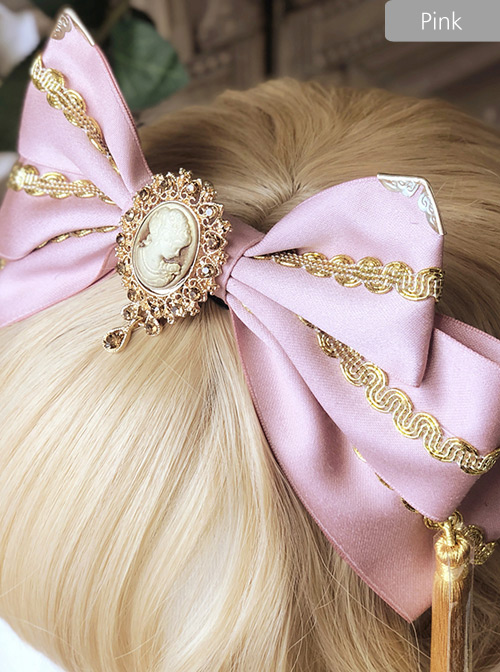 Gorgeous Style Golden Tassel Classic Lolita Multicolor Hair Hoop