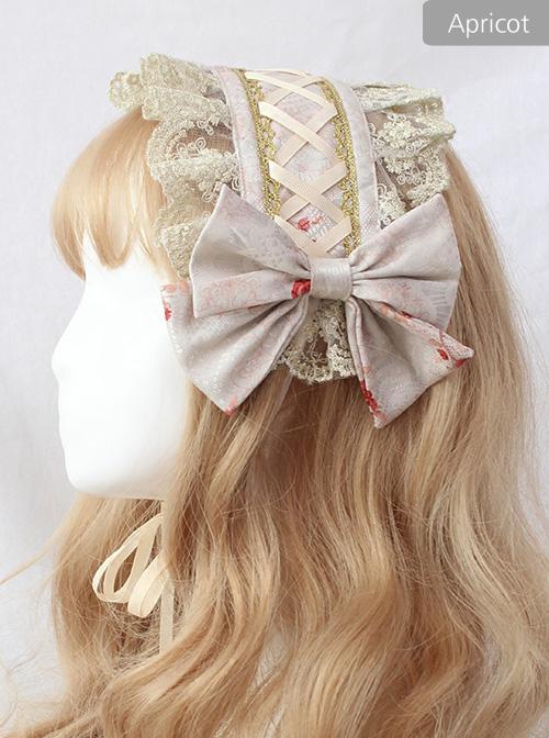 Chandelier Series Silk Ribbon Bowknot Sweet Lolita Hairband
