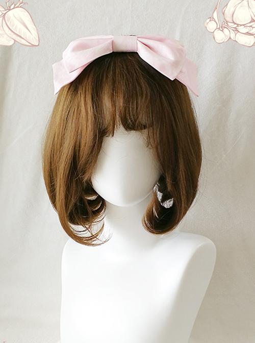 Lunch Tea Rabbit Series Printing Sweet Lolita Big Hair Pin