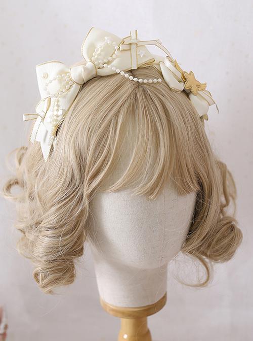 Multicolor Bowknot Ribbon KC Sweet Lolita Irregular Headband