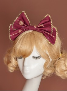 Gift Box Bear Series KC Printing Bowknot Sweet Lolita Head Hoop