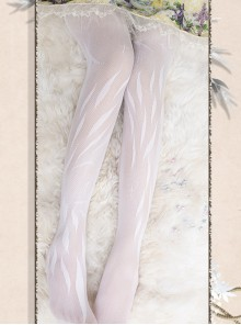 Angel's Feather Series Gothic Lolita Summer Pantyhose
