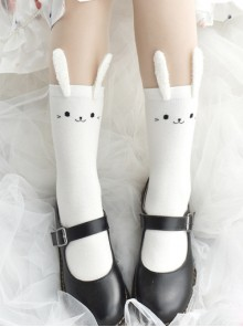 Stereoscopic Decoration Cute Rabbit Ears Sweet Lolita Socks