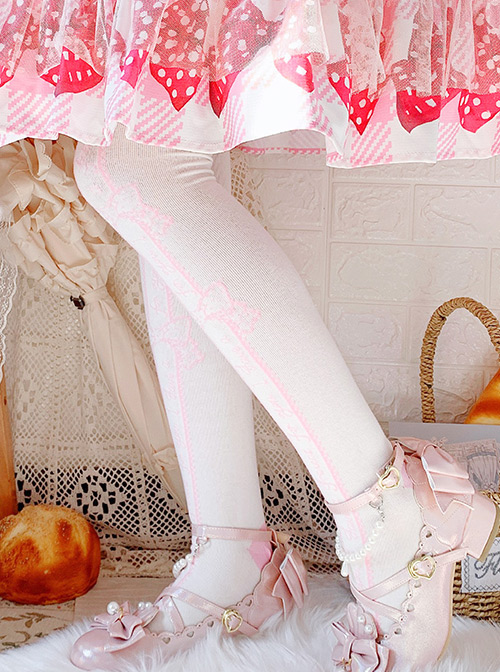 Annie's Gift Series Multicolor Sweet Lolita Stockings