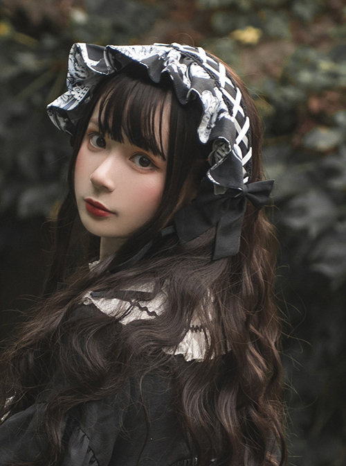 Wolf Detective Series Gothic Lolita Hair Band