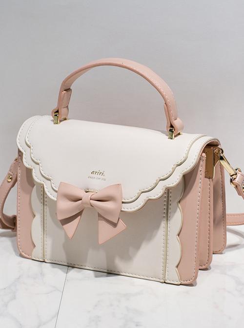 Cute Bowknot Elegant Organ Classic Lolita Small Square Bag