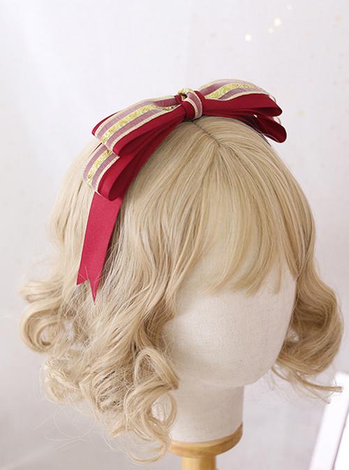Multicolor Bowknot Little Gorgeous Sweet Lolita Headband