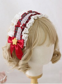 Multicolour Bowknot Desserts Cookies Lace Sweet Lolita Headband